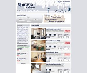 Homing-Barcelona apartmen
