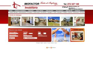 Imofactor Real Estate Web