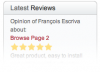 Virtuemart Customer Reviews Pro
