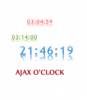 AJAX Web 2.0 clock