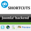 Shortcuts for Joomla Backend