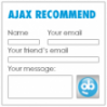 AJAX Recommend by foobla