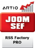 RSS Factory PRO - ARTIO JoomSEF 3 Extension
