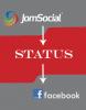 JS Facebook Status