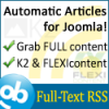 Joomla Full-Text RSS