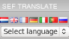 SefTranslate component