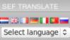 SefTranslate module for Joomla