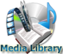 MedialLibrary search media module