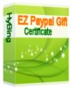 EZ Paypal Gift Certificate