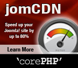 jomCDN - Speed your Joomla site up
