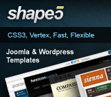Shape 5 Joomla Templates