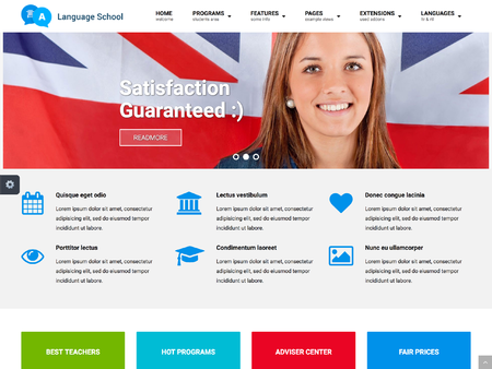 Joomla template jm education jm education maxwellsz
